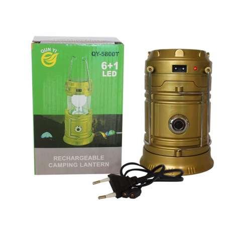 Jual Eelic Qy 5800t 1w 6 Smd Led Warna Kuning Lampu Senter Lentera Multifungsi Tenaga Surya Anti Air Harga Rp 42.500
