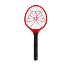 Electric Insect Mosquito Swatter with Rechargeable LED Light(Red) - intl