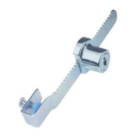 Electronic Sliding Glass Lock - Gembok Etalase - Silver