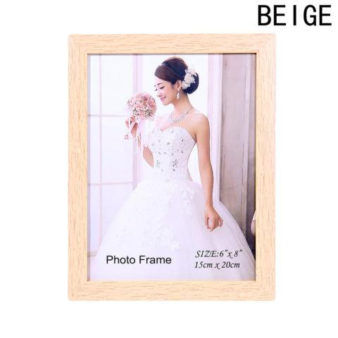 Fancyqube Kreatif Bingkai Foto dari PVC Bingkai Foto 8 Inch Bingkai Foto Gambar Lukisan Dinding Frame (15 Cm * 20 Cm) Black4-Intl 2