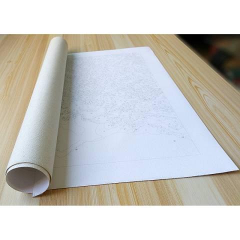 Bunga Lukisan DIY Abstrak Oleh Nomor Kit Seni Dinding Modern Gambar Handpainted Lukisan Minyak untuk Kamar Karya Seni 40X50-Intl 2