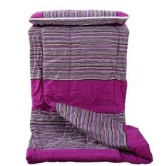 Fu Tekstil Katun Kasar QUEEN SOFA Cushion Bantal Mobil Kantor Quilt Dual Ac-Intl