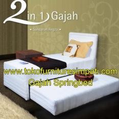 Gajah 2in1 120x200 Komplit Set Sandaran Regza