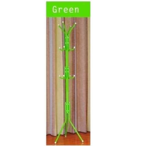 Gantungan Multifungsi Untuk Baju Tas Topi Payung DLL - Multifunction Hanger - Hijau