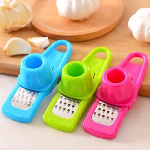 Garlic Mixer - Alat Press Bumbu Dapur Alat Memarut Bawang Merah Putih Keju Jahe dll Alat
