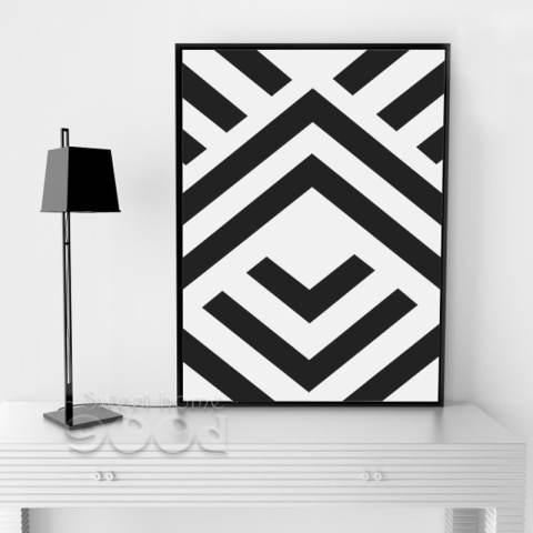 Bentuk Geometris Dinding Seni Cetak Poster Gambar Gokil Banget Bikin Ngakak Yang Bisa Anda Dapatkan Secara Mudah dan GRATIS Tanpa Perlu Login dan Dinding untuk Dekorasi Rumah, Tidak Termasuk Bingkai Kanvas Seni FA213 1
