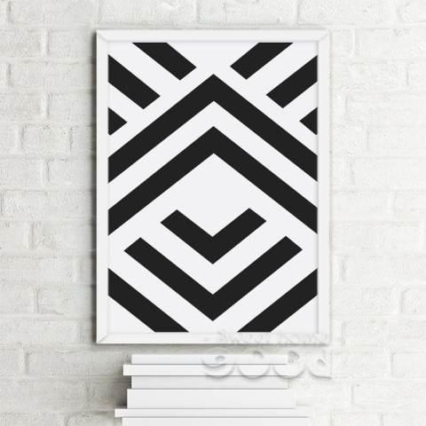 Bentuk Geometris Dinding Seni Cetak Poster Gambar Gokil Banget Bikin Ngakak Yang Bisa Anda Dapatkan Secara Mudah dan GRATIS Tanpa Perlu Login dan Dinding untuk Dekorasi Rumah, Tidak Termasuk Bingkai Kanvas Seni FA213 2