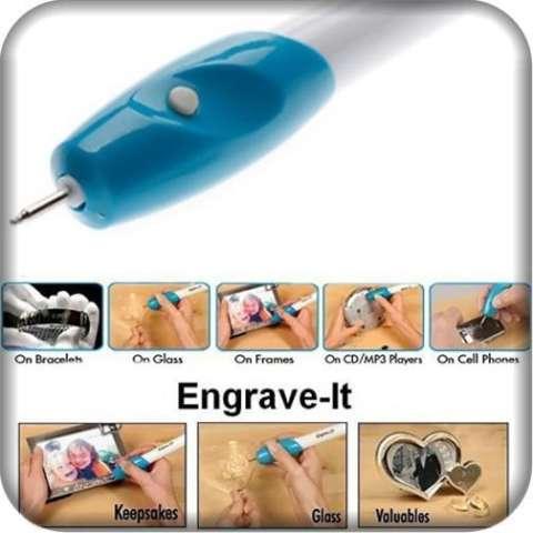 Gokea Engrave It - Pen Alat Ukir Elektrik - Putih