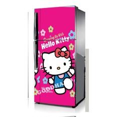 Goodhand Sticker Kulkas 1 Sisi 60 x 150 Seri Hello Kitty Pink ORI Import bukan cetakan lokal