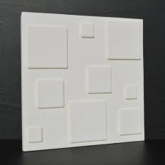 Gosport 3D Grid Pola Wallpaper Kamar Tidur Ruang Tamu Modern Dinding Latar Belakang TV Decor-Intl