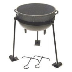 GPL/ Bayou Classic Cast Iron 7-gallon Jambalaya Pot/ship from USA - intl