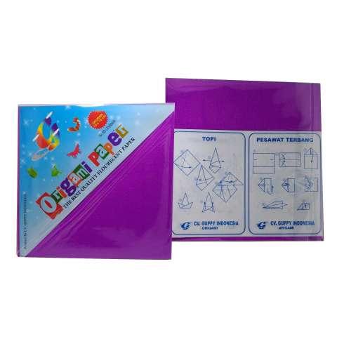 Guppy Origami Paper Kertas Warna 15X15cm 50 lbr [10 Pcs]