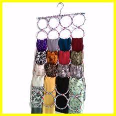 Hanger Jilbab Ring Bulat 28 Lubang Gantung Origami Z0054A