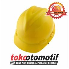 Helm Safety Kuning ( Top Quality ) Alat Safety / Pelindung Kepala / Helm Proyek /