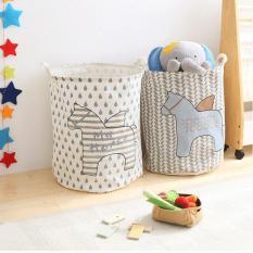 HH101 Loundry Bag Tempat Keranjang Pakaian Kotor Bekas Mainan Barang