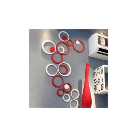 Hiasan Dinding Wall Sticker 3D Bentuk Lingkaran 3