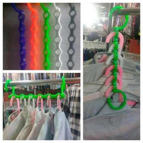 HOKI COD - Tali Jemuran 5 meter Serbaguna - Baju Handuk Hanger - Gantungan Baju -