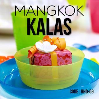 Promo Ikea Kalas Bowl Mangkuk Plastik Anak/Bayi Aneka Warna Warni Set Isi 6 -
