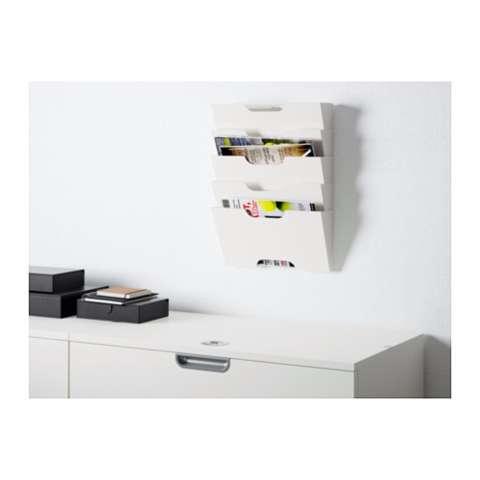 Ikea Kvissle Rak Koran Dinding - Putih 1