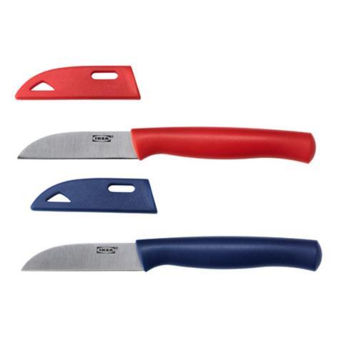 IKEA Skalad Pisau Pengupas Super Tajam Paring Knife Multicolor (1 pcs)