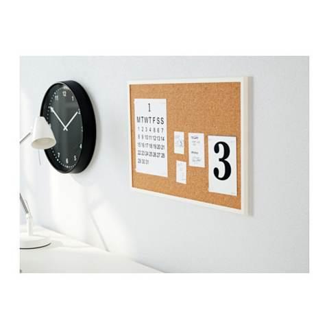 IKEA Vaggis Noticeboard Minimalis Unik Papan Kayu Pengumuman Informasi Tulis Berita Pribadi Kantor Sekolah Majalah Dinding Bulletin Board Horizontal Vertikal Wall Accessories - Coklat 1