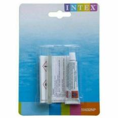 Intex Lem Repair Kit Penambal Kasur Angin / Matras Angin / Air Mat / Kolam Pompa / Bola Mainan