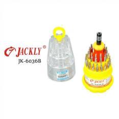 Jackly 31 In 1 Obeng Set - JK-6036B