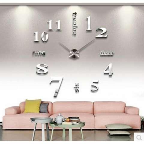 Jam Dinding Ukuran Besar DIY 80-130cm Diameter - Giant 2