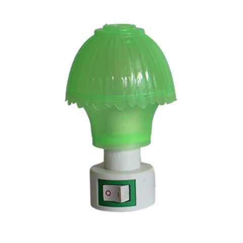 ... Mata Dan Hemat Energi. EELIC JM 997 Mini Warna Hijau Model Jamur Lampu cantik Malam Hari Tidak Silau Di