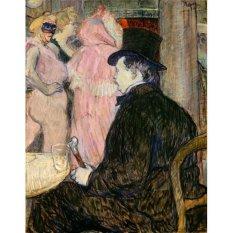 Jiekley Fine Art - Lukisan Maxime Dethomas Karya Henri de Toulouse Lautrec - 1896