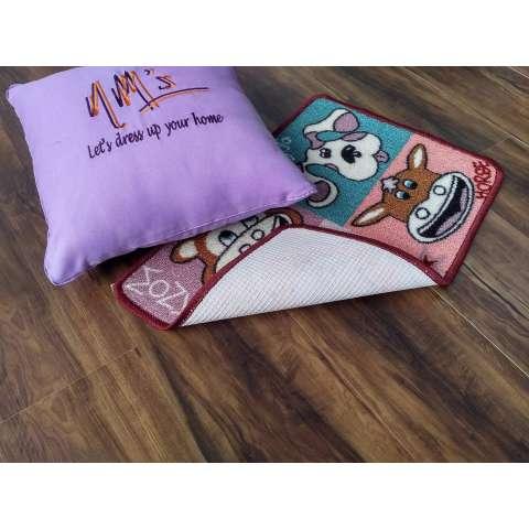 Tren-D-rugs - Keset kaki Kamar Tidur / Kamar Mandi Karakter Anak-anak Gel Printed Kiddy 40 cm x 60 cm - Animal JK11 - NMs 1