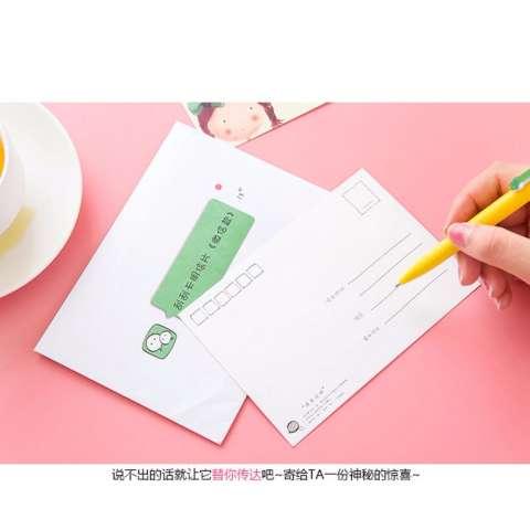 TOKO49 - Kartu Ucapan Note Gosok Kreatif Kartu Pos Unik