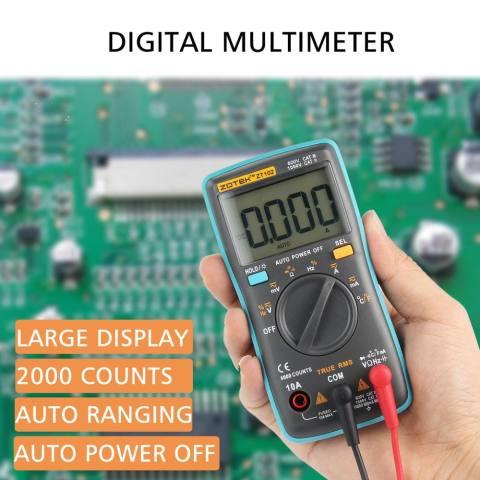 6000 Counts Backlight AC DC Ohm Ammeter intl. Source · Kobwa ZT102 .
