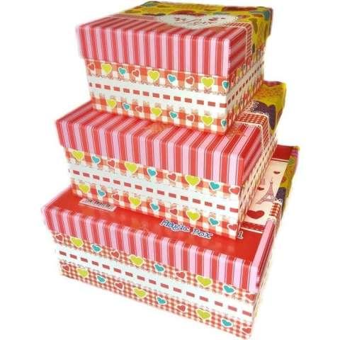 Kotak Kado Kiky Four Shape Box 3in1 Magic Box (High Quality) – Paris 3