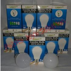 Lampu LED Emergency 5Watt merk Light+ Combo Bulb