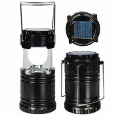 Lampu LED Lentera Emergency Tenaga Solar Matahari Petromak Power Bank