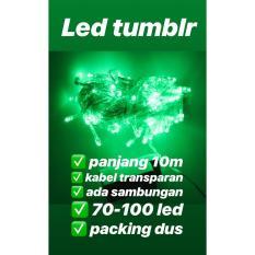lampu led tumblr , natal , string , dekorasi