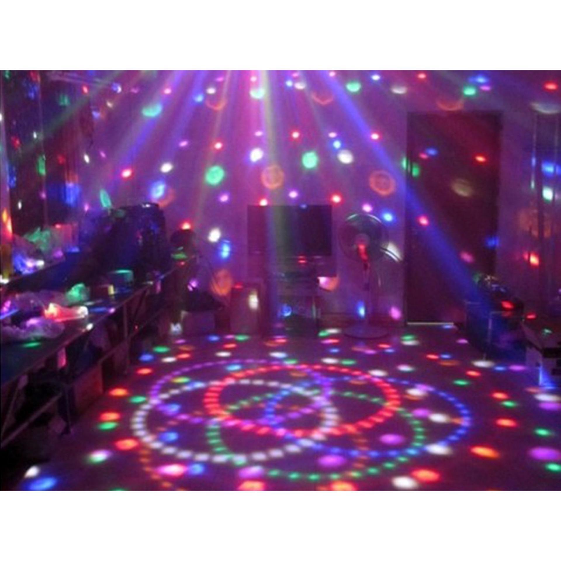 Lampu tidur kamar disco portable / Lampu kelap kelip disco LED Magic Ball Light