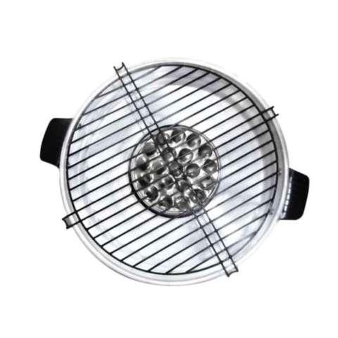 Le Chef Happy_Call Grill Magic Roaster 32cm - Alat Pemanggang Di Atas Kompor 2