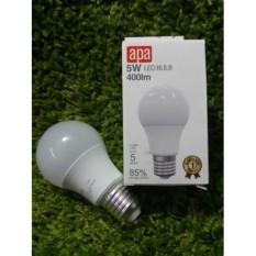 LED lampu hemat energi 85% APA 5w LED BULD