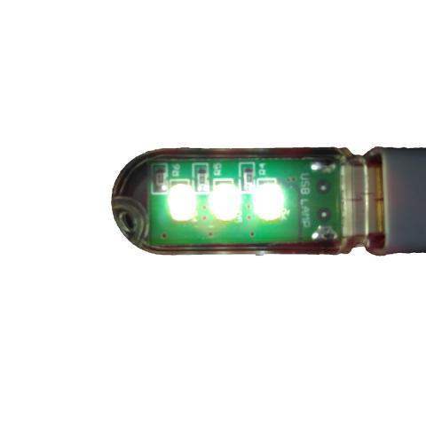 LED Light Superbright USB 3 LED Senter Torch Lampu Emergency Lamp Bright Clear