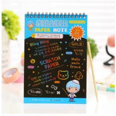 Lucky NoteBook Colourfull Notebook / Scratch Note 20x14cm / 1Pcs