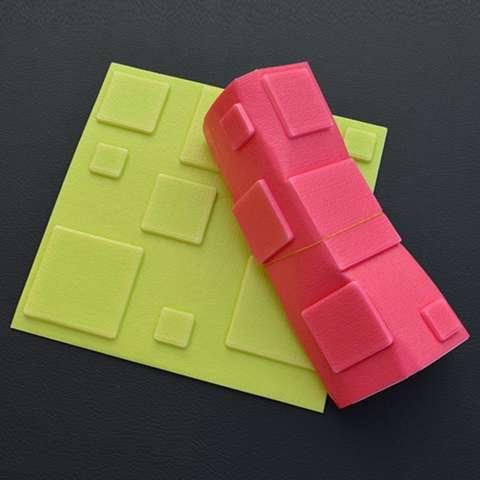 LumiParty 1 PC/6 Pcs Tahan Air Brick-Grain PE Foam Wallpaper 3D Wall Sticker Anti-Collision Art Mural untuk Taman Kanak-kanak Kamar Anak-anak Hotel Dinding Ornamen Spesifikasi: Susu Putih 1 Pc 3