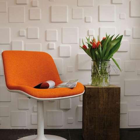 LumiParty 1 PC/6 Pcs Tahan Air Brick-Grain PE Foam Wallpaper 3D Wall Sticker Anti-Collision Art Mural untuk Taman Kanak-kanak Kamar Anak-anak Hotel Dinding Ornamen Spesifikasi: Susu Putih 1 Pc 1