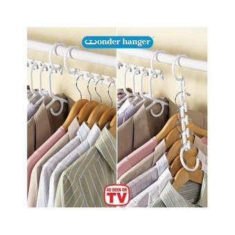Promo Alat Gantungan Baju Ajaib Smart Magic Wonder Hanger Murah