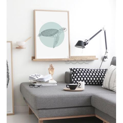 Hewan Laut Seni Kanvas Cetak Lukisan Poster, Set 3, Dinding Gambar untuk Dekorasi Rumah, Dekorasi Rumah CM010CMP-Intl 2