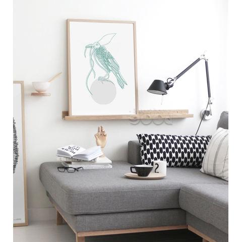 Hewan Laut Seni Kanvas Cetak Lukisan Poster, Set 3, Dinding Gambar untuk Dekorasi Rumah, Dekorasi Rumah CM010CMP-Intl 3