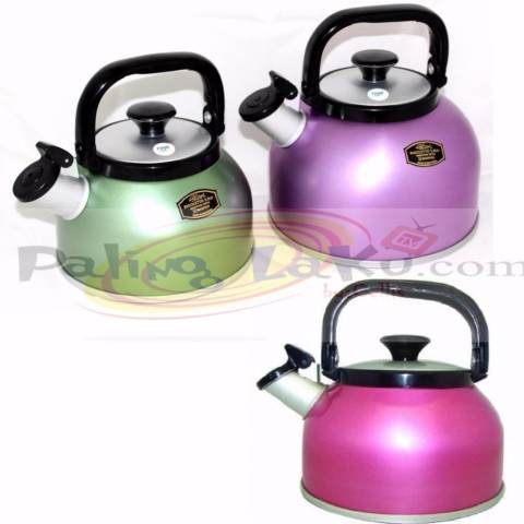 Maspion Teko / kettle Rigoletto Anodize 3,5 Liter - regoleto Multi Colour