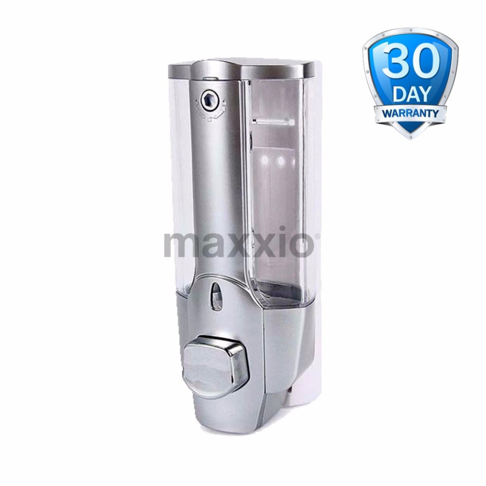 Ecomax Dispenser sabun Silver chrome Single