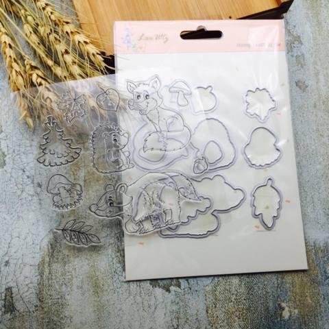 Logam Cutting Dies Stamp Stensil DIY Membuat Scrapbook Foto Album Dekorasi Hiasan Timbul-Internasional 2